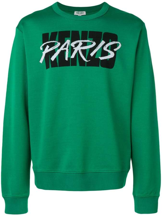 30a723c51 Kenzo Green Men's Sweatshirts - ShopStyle