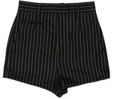 Marc Jacobs Striped Wool Shorts