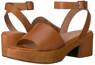 Seychelles Calming Influence (Tan Leather/Suede) Women's 1-2 inch heel Shoes