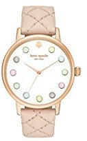 Kate Spade watches Leather Metro Watch (Brown)