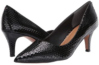 J. Renee Abigaile (Black Snake Print) Women's Shoes