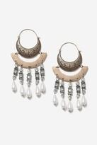 Topshop Pearl Chandelier Earrings