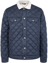The North Face Sherpa Navy Quilted Shell Jacket