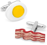 Asstd National Brand Bacon and Egg Cuff Links