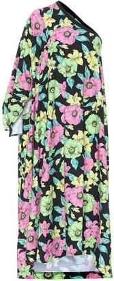 Balenciaga Floral cotton dress