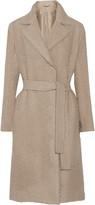 Helmut Lang Belted bouclé wool coat