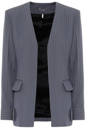 Chloé Striped virgin wool blazer
