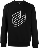 Lanvin bead embroidered sweatshirt - men - Cotton/PVC/Virgin Wool - S