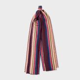 Paul Smith No.9 - Women's Damson Viscose-Silk Blend Scarf
