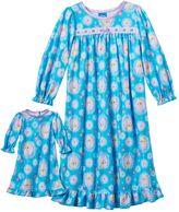 Disney Disney's Frozen Elsa Toddler Girl Nightgown Set by Dollie & Me