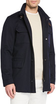 Loro Piana New Traveler Cashmere Stretch Storm System® Jacket