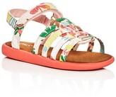 Toms Girls' Huarache Strappy Sandals