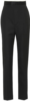 Haider Ackermann Wool-twill straight pants