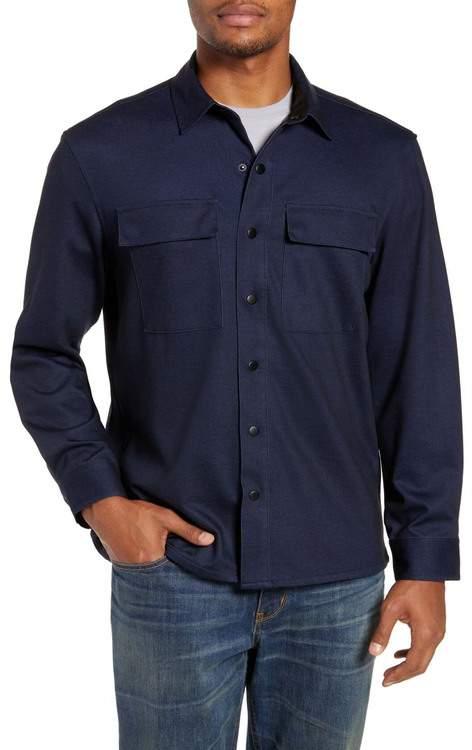 561b948c3 Regular Fit Knit Shirt Jacket