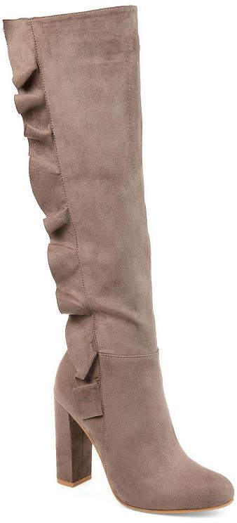 Journee Collection Womens Jc Vivian Dress Boots Block Heel