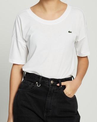Lacoste Tennis Plain Jersey T-Shirt