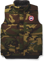 Canada Goose - Freestyle Camouflage-print Quilted Shell Down Gilet