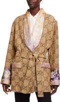 Gucci GG Linen Robe Jacket