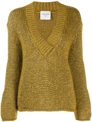 Forte Forte Oro chunky knit jumper