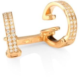 Repossi Berbere Diamond & 18K Rose Gold Ear Cuff