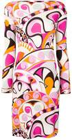 Emilio Pucci printed long-sleeve dress