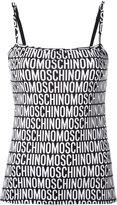 Moschino spaghetti strap tank top - women - Polyester/Spandex/Elastane - M