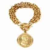 Ben-Amun Moroccan Coin Charm Bracelet