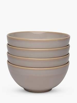 MESA Varnish Cereal Bowls, Set of 4, 15.8cm, Natural