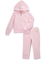 Juicy Couture Pink Hoodie & Sweatpants - Infant Toddler & Girls