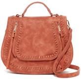 Urban Expressions Chile Vegan Leather Saddle Bag