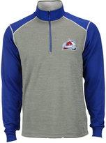 Antigua Men's Colorado Avalanche Breakdown Quarter-Zip Pullover