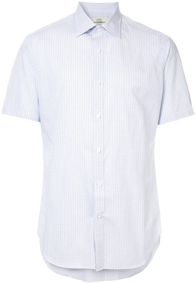 Kent & Curwen Short-Sleeve Fitted Shirt