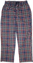 Tommy Hilfiger Men's Fleece Sleepwear Pajama Pants Blue/Red Plaid