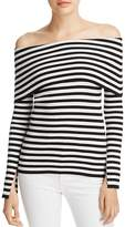 Milly Striped Off-the-Shoulder Top