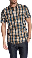 Timberland Short Sleeve Regular Fit Check Shirt