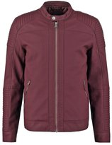 Tiffosi Faux Leather Jacket Red