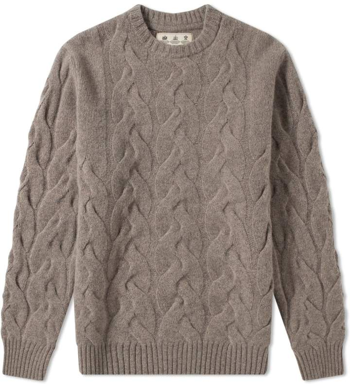 Barbour Thornton Cable Crew Knit - Japan Collection