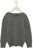 Polo Ralph Lauren Boys' Cable Knit Long Sleeve Sweater w/ Tags