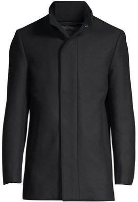 Theory Clarence Wool-Cashmere Coat