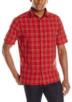 Woolrich Men's Amble Wood Short Sleeve Shirt
