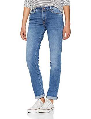 Cross Women's's Anya Slim Jeans, (mid Blue Used 139), 36W x 34L