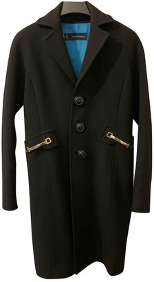 DSQUARED2 Black Wool Coat for Women