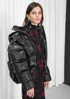 Other Stories Padded Down Puffer Jacket
