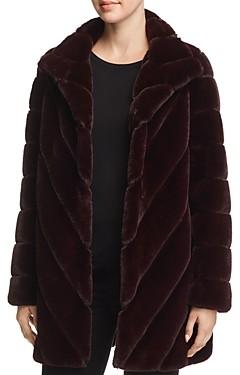 Calvin Klein Faux Fur Teddy Coat
