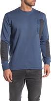 Diesel Skim Colorblock Drawstring Hem Sweater