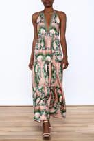 Nicole Miller Floral Silk Dress