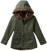 Urban Republic Girls 4-6x Cotton Twill Midweight Anorak Jacket