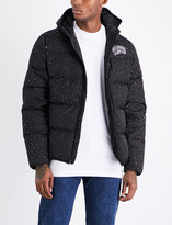 Billionaire Boys Club Galaxy quilted hooded shell jacket