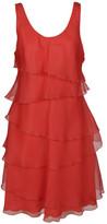 Armani Collezioni Sheer Shift Dress