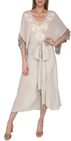 Thumbnail for your product : Flora Bella Monet Embroidered Gauze Coverup Kimono